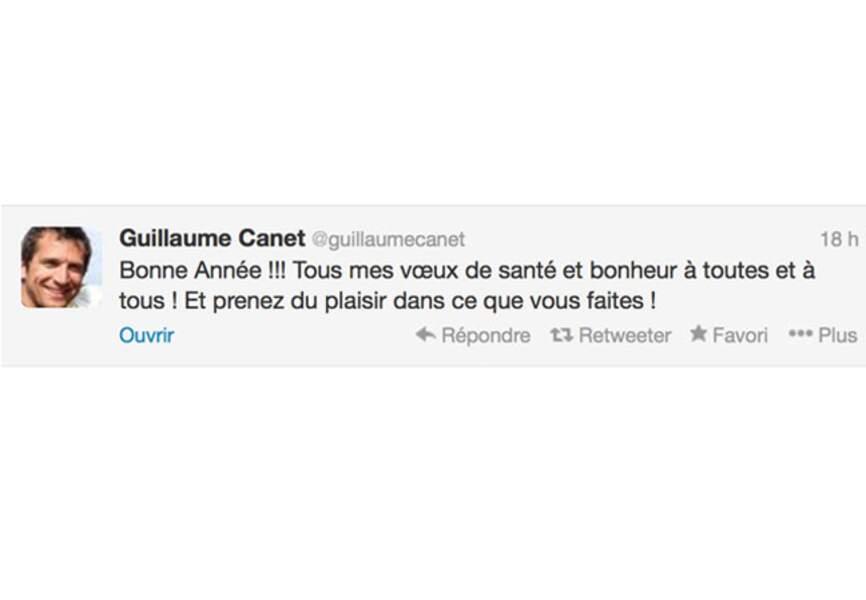 Guillaume Canet vous souhaite ses meilleurs voeux