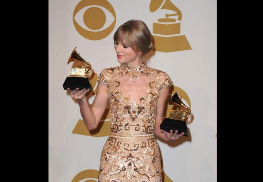 En 2012 lors des Grammy Awards