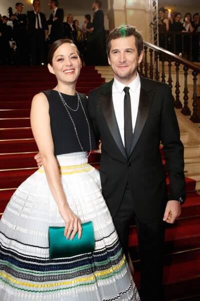 2015, Marion Cotillard et Guillaume Canet à la cérémonie des Césars