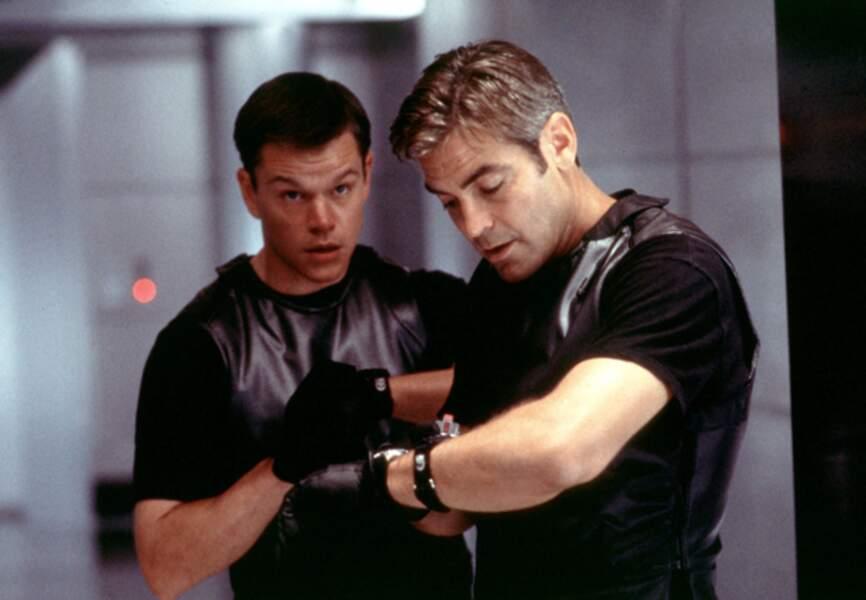 Il est Linus Caldwell dans Ocean's Eleven, aux côtés de George Clooney en 2002