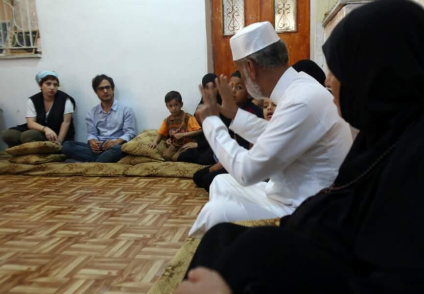 Chez une famille syrienne à Beqaa en Jordanie