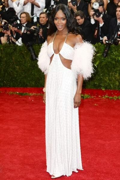 Naomi Campbell en Givenchy