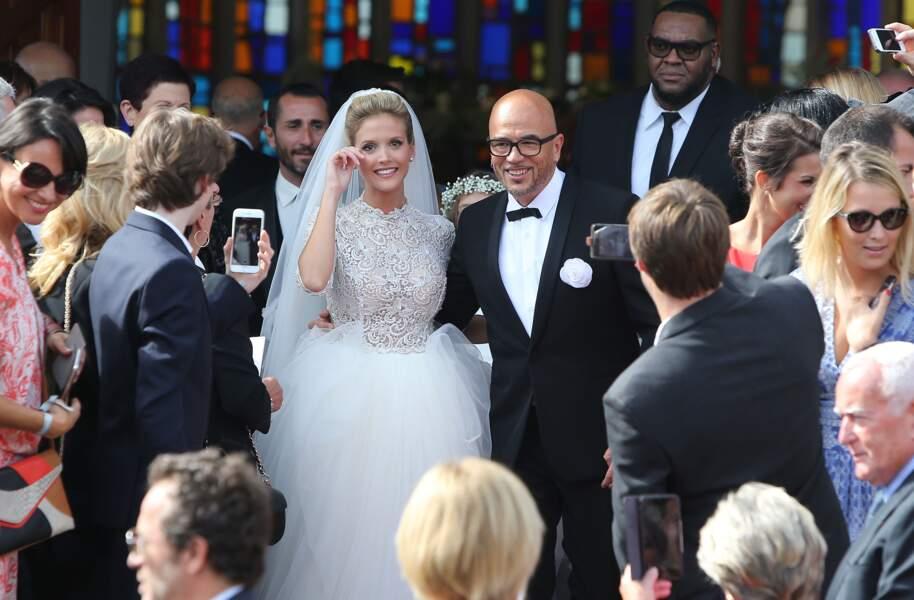 Le mariage de Pascal Obispo & Julie Hantson - KCS