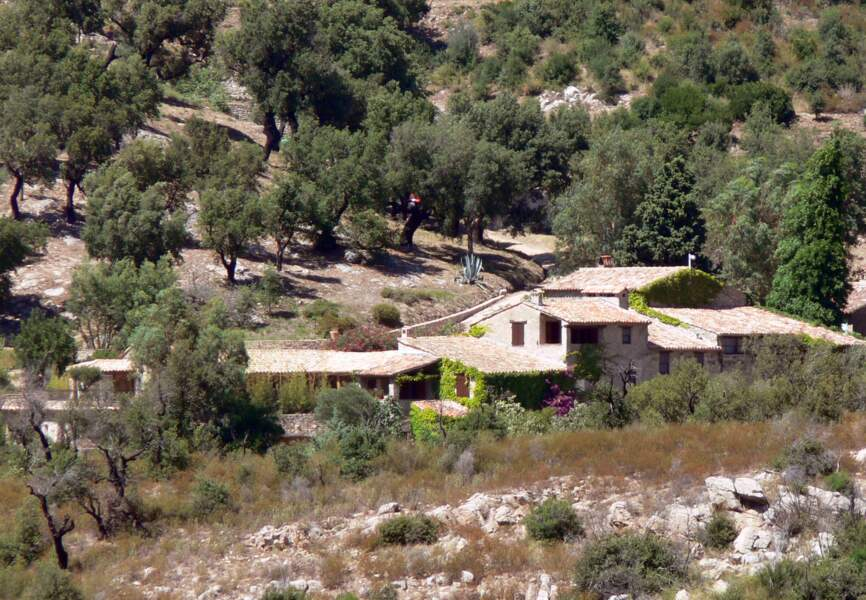 Johnny Depp et Vanessa Paradis aimaient se ressourcer dans leur villa de Provence