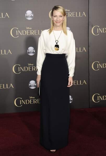 Cate Blanchett à la première mondiale de Cendrillon