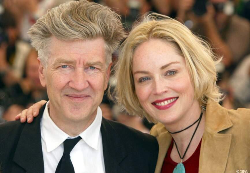 Sharon Stone, membre du jury de David Lynch en 2002