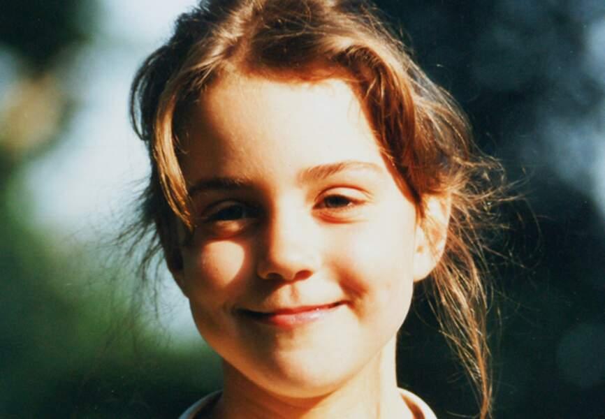 A 11 ans, elle ne se doutait pas encore qu'elle épouserait un jour...