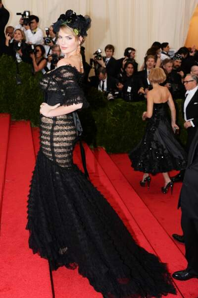 Kate Upton en Dolce&Gabbana