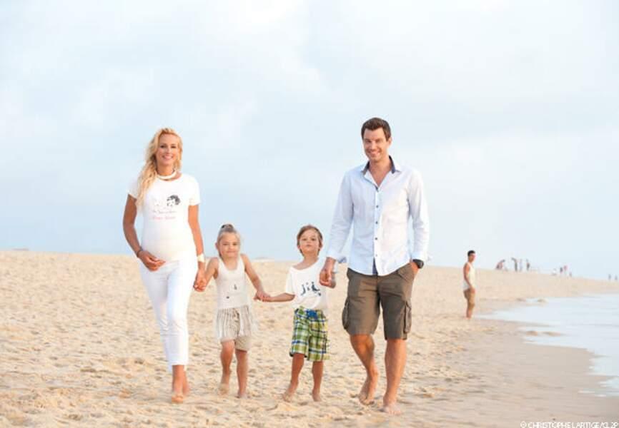 Octobre: Elodie Gossuin signe pour une famille nombreuse avec l'arrivée de ses jumeaux, Léonard et Joséphine