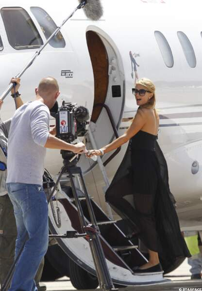 La où on fait la fête... Paris Hilton