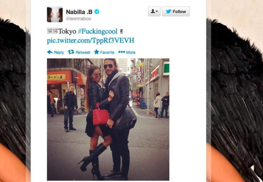 W-end en amoureux pr Nabilla et son compagnon Thomas à Tokyo