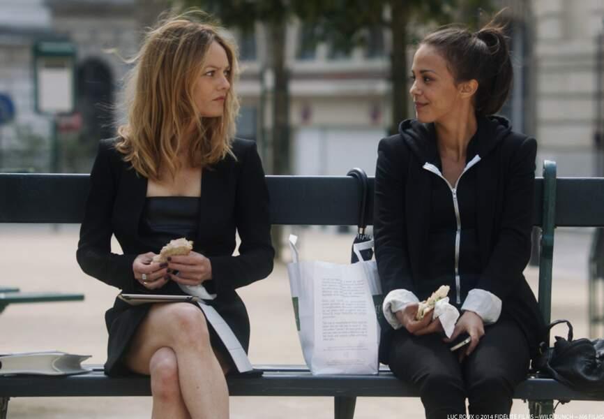 Vanessa Paradis et Alice Belaïdi