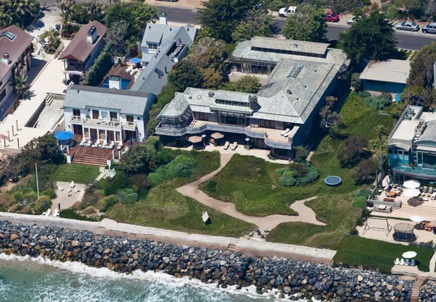La maison de vacances de Victoria et David Beckham