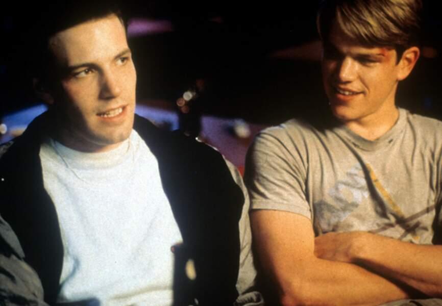 Un film qu'il a écrit avec son meilleur ami, Ben Affleck, figurant lui-aussi au casting