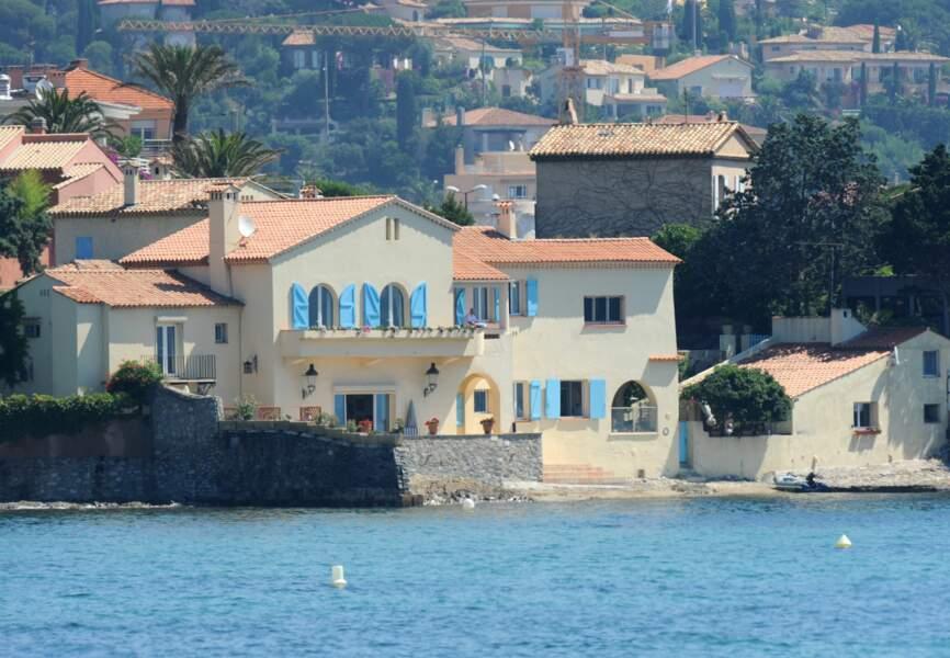 Le roi et la reine de Suède Carl XVI Gustave et Silvia possèdent une villa à Sainte-Maxime dans le sud de la France