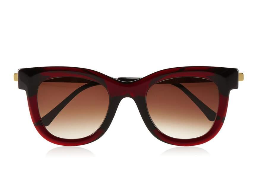 Thierry Lasry, lunettes de soleil acétate et métal, 425€