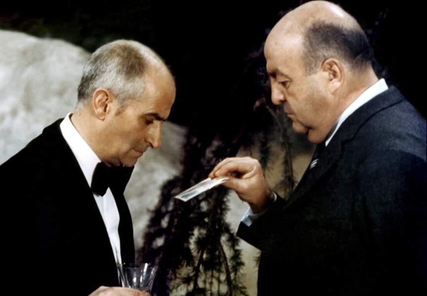 JO de Jean Girault (1971). Avec Bernard Blier. D'après la pièce d'Alec Coppel Un mort récalcitrant