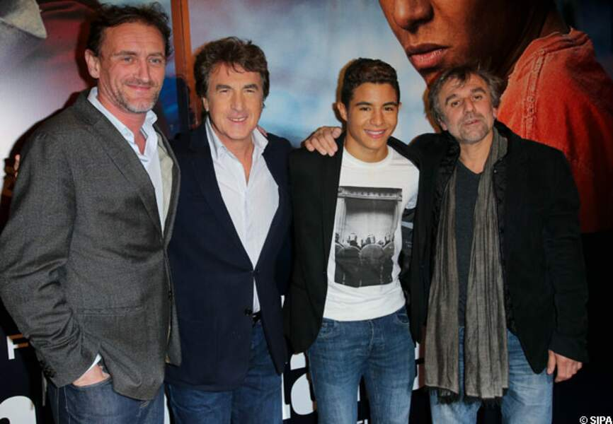 Jean-Paul Rouve, François Cluzet, Samy Seghir et Christophe Offenstein