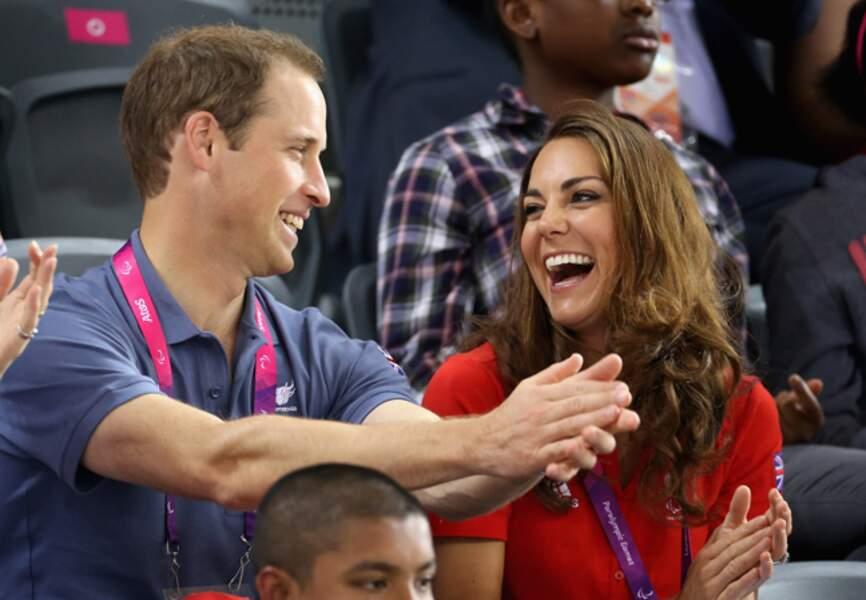 Kate ne résiste pas à l'humour de William