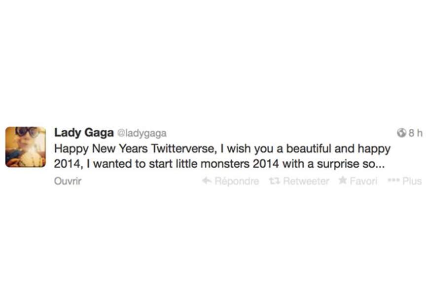 Une surprise pour Lady Gaga en 2014?