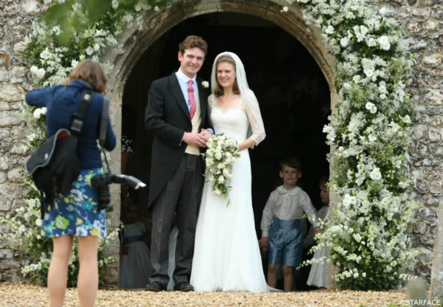 L'heureux couple, Lady Laura Marsham et James Meade