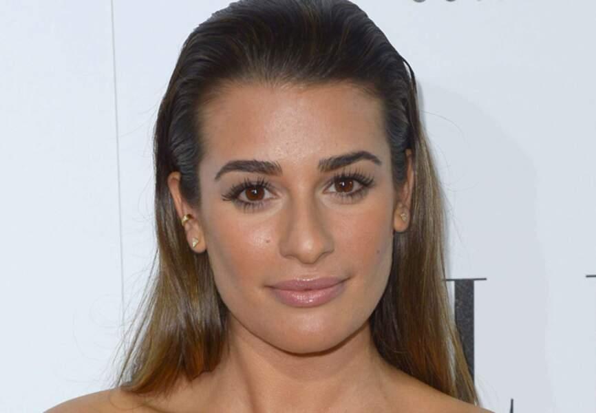 Regard de star pour Lea Michele