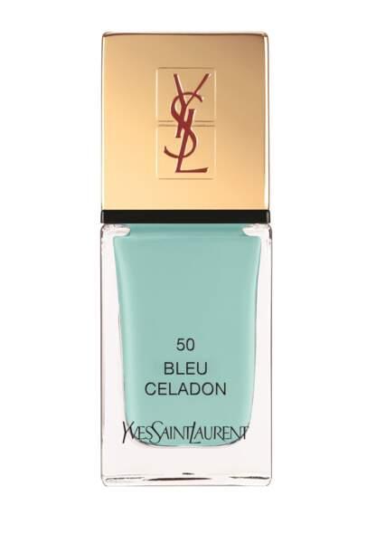 Bleu Céladon Laque Couture d'Yves Saint Laurent