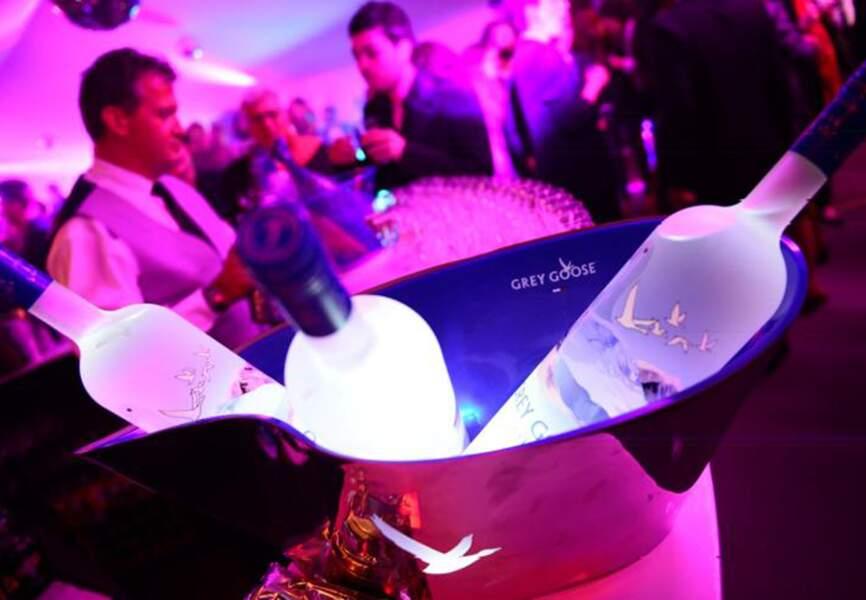 Les invités ont pu goûter des cocktails Grey Goose créés spécialement pour l'occasion