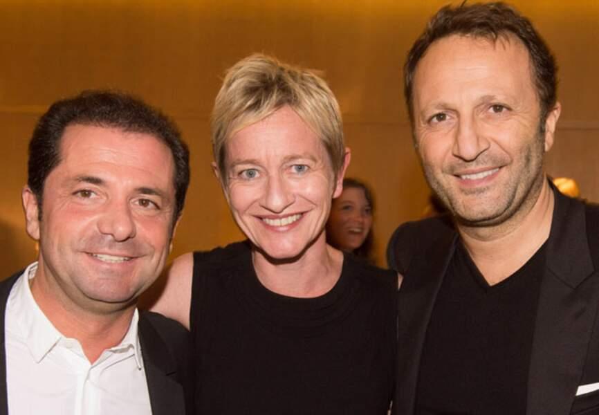 Victor Tiboun, Béatrice Schopflin et Arthur