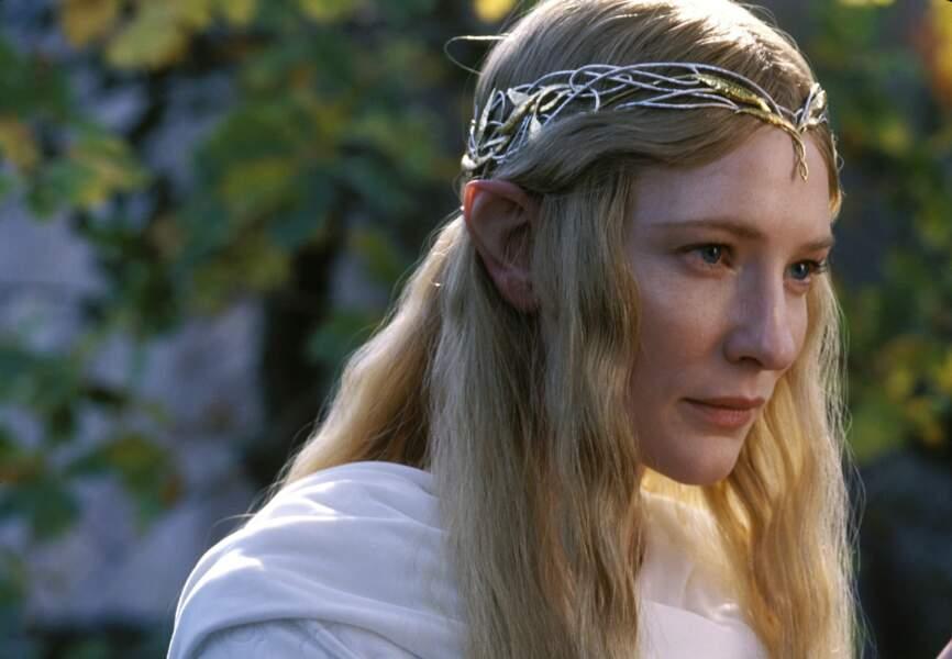 Cate Blanchett est Galadriel dans la trilogie du Seigneur des anneaux