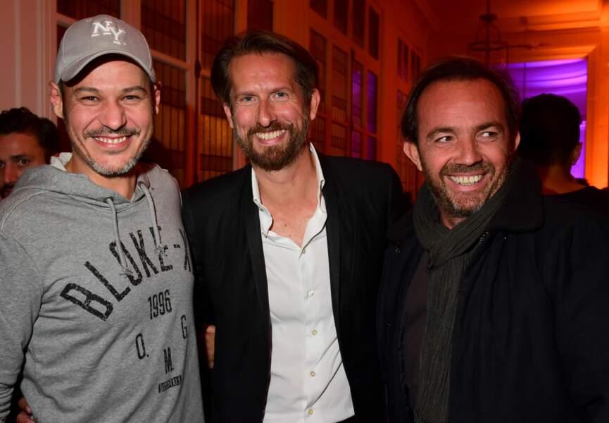 Gaël Leforestier, Sam Bobino, Alexis Tregarot