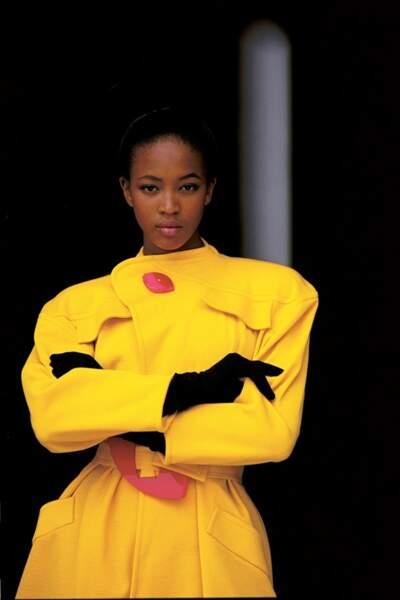 Une jeune Naomi photographiée par Eddie Kohli