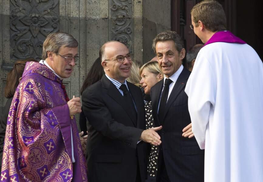 Bernard Cazeneuve et Nicolas Sarkozy