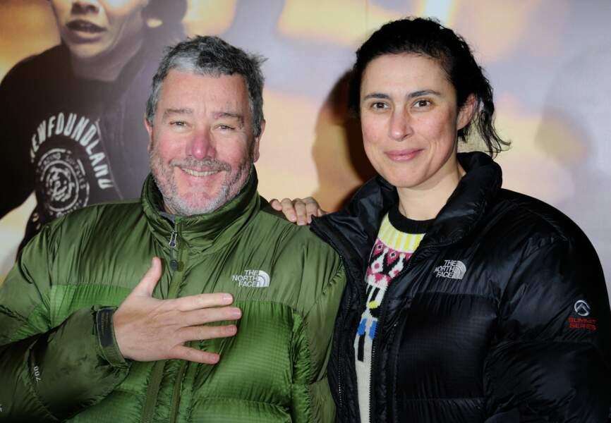 Philippe Starck et sa femme