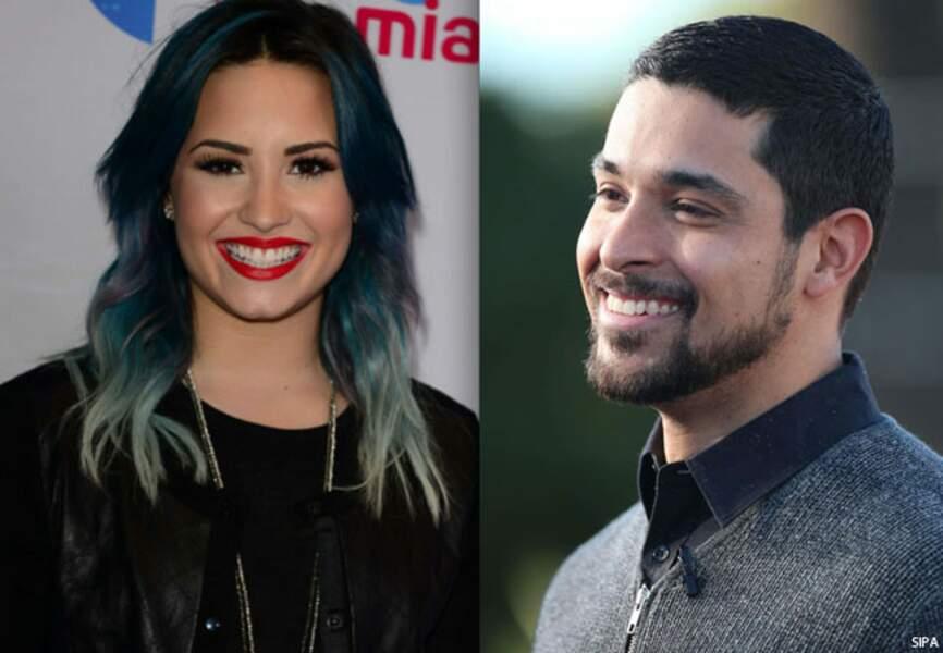 La chanteuse demi Lovato est fiancée à l'acteur Wilmer Valderrama depuis Noël