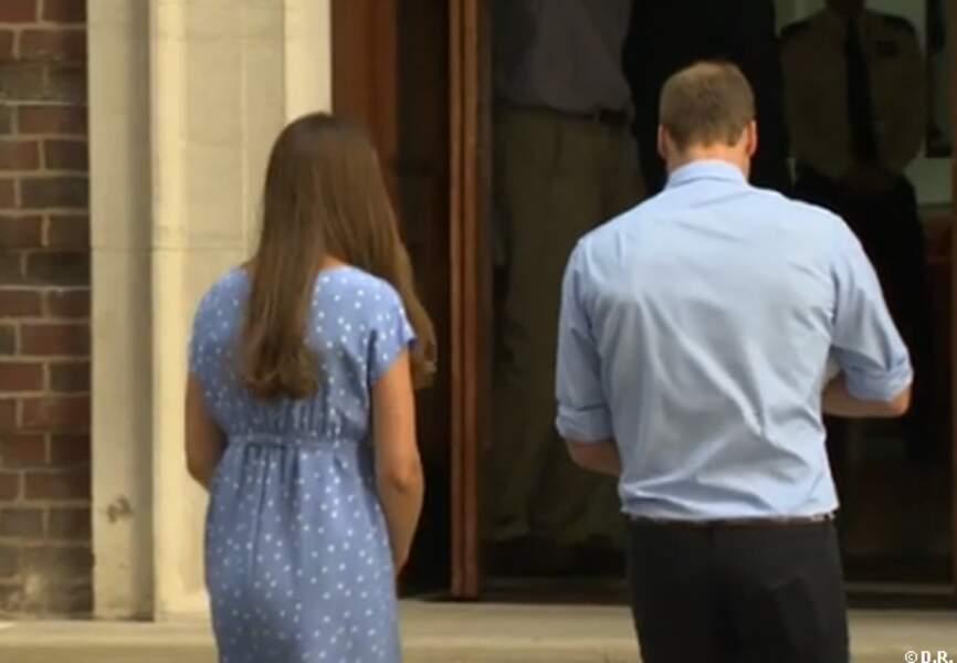 Kate et William retournent dans la maternité