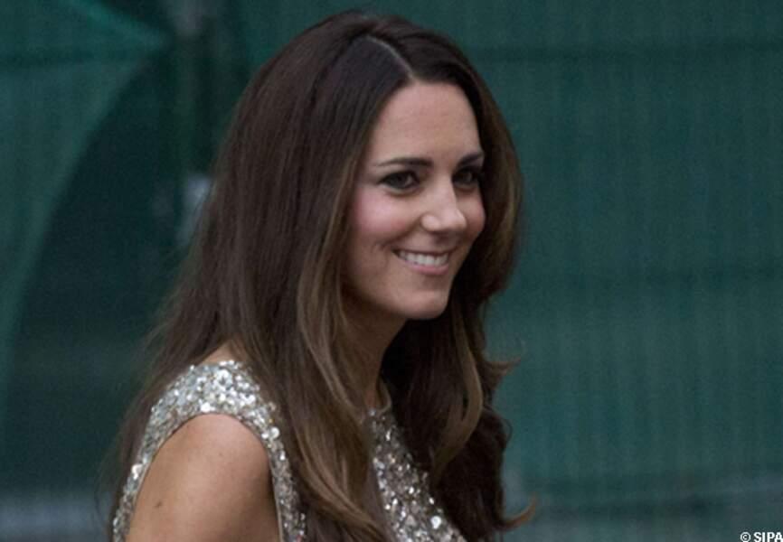 Kate toujours aussi radieuse