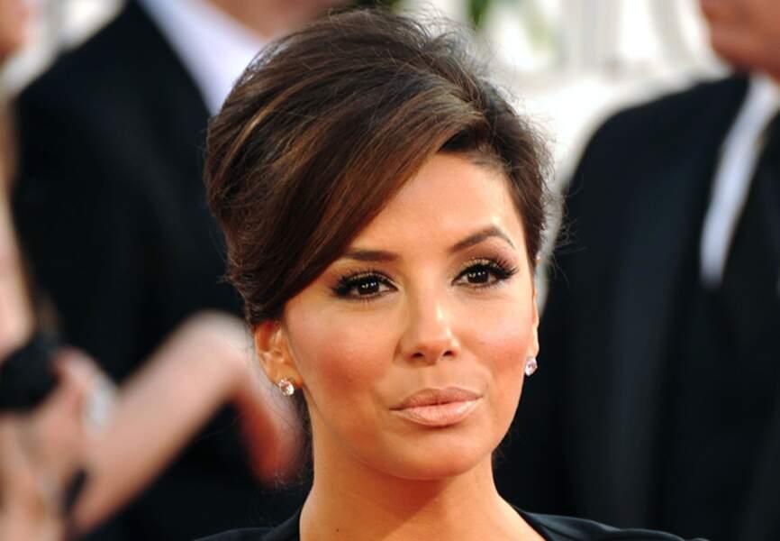 Make-up naturel lors des 68e Golden Globes en 2011