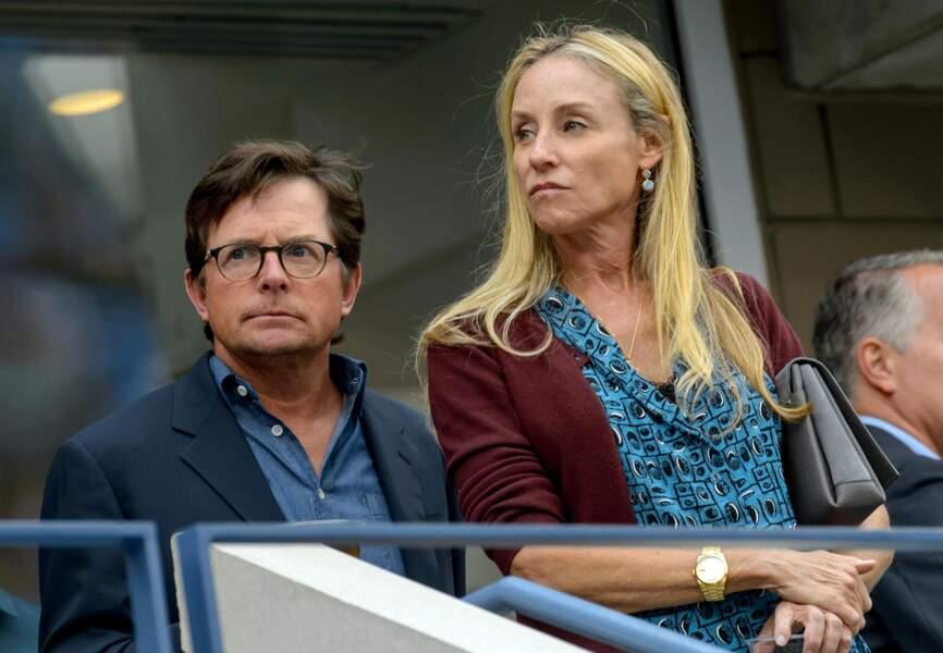 Michael J Fox et sa compagne
