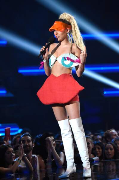 Miley Cyrus sur scène