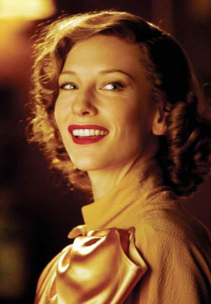 Cate Blanchett en Katharine Hepburn