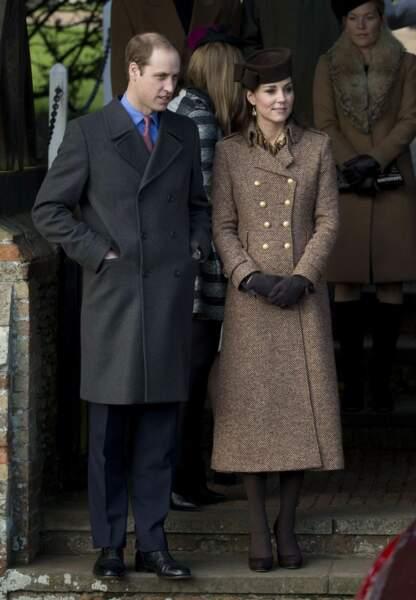 Kate et William, concentrés