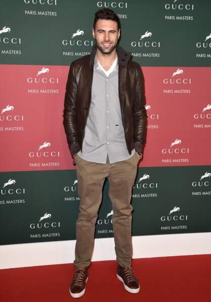 Salvatore Sirigu, le gardien du PSG, était d'ailleurs présent dans la tribune VIP du Gucci Grand Prix