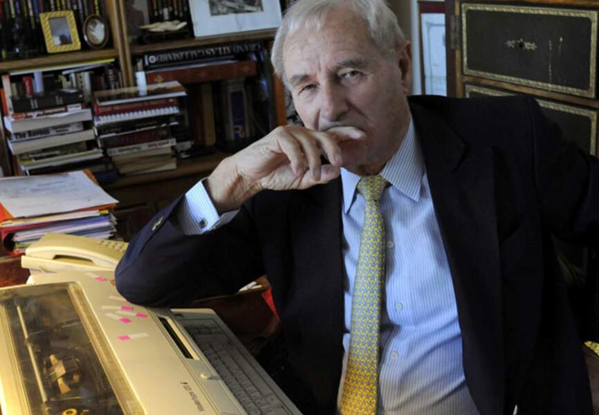 Gérard de Villiers, écrivain, auteur de la série S.A.S. (1929-2013)