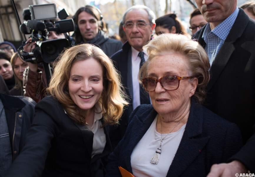 NKM reçoit le soutien de Bernadette Chirac