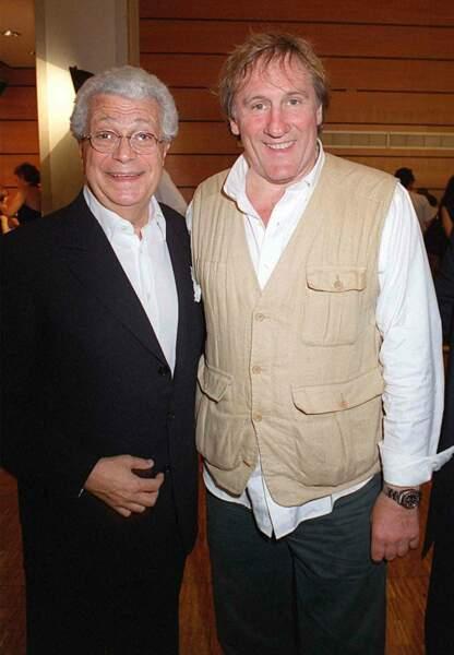 avec Gérard Depardieu