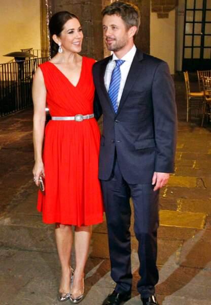 Mary et Frederik de Danemark au Mexique (novembre 2013)