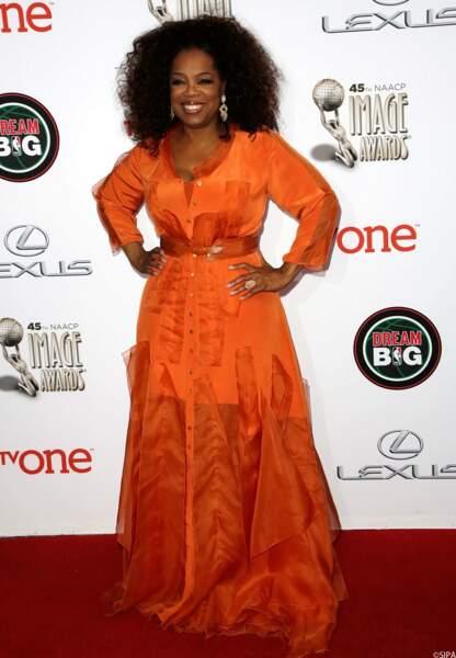 L'animatrice américaine Oprah Winfrey