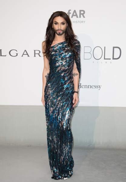 Conchita Wurst, gagnante de l'Eurovision