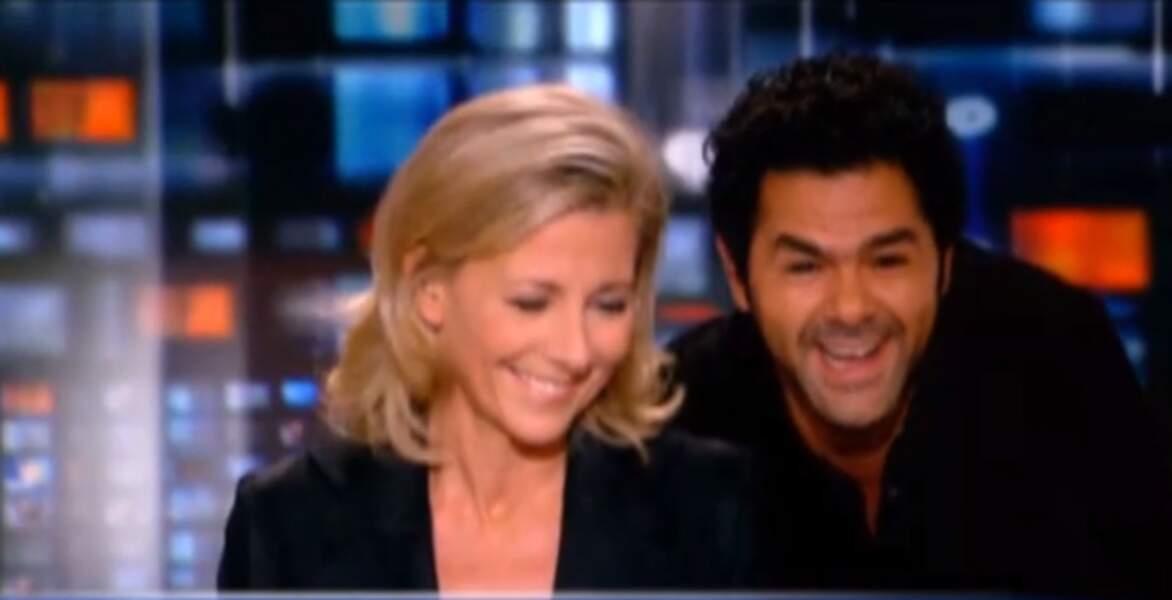 En 2011, Jamel Debbouze est l'invité du JT de Claire Chazal